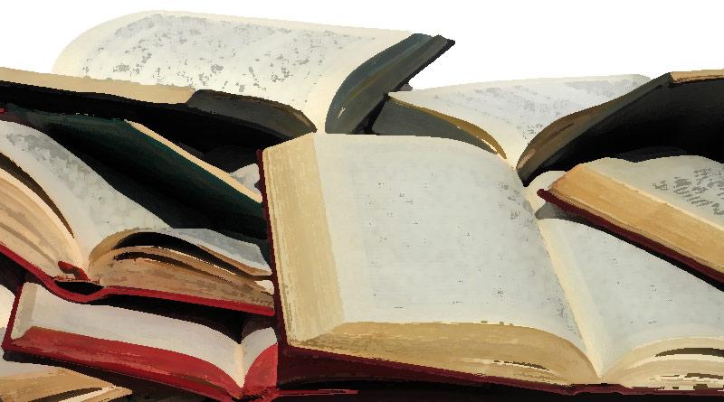 livros sebo vetor