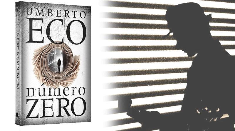 Número Zero livro Umberto Eco