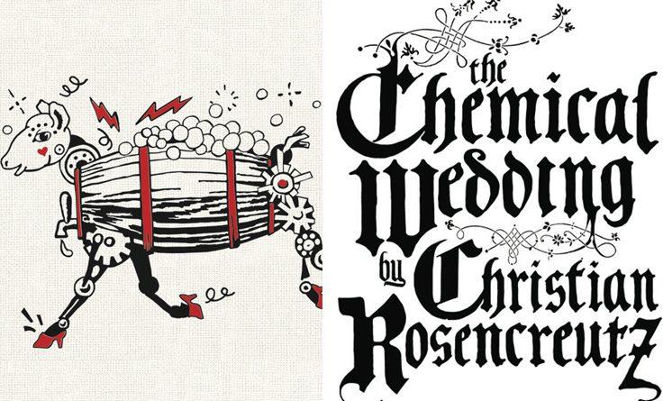 capa the chemical wedding livro de ficção científica mais antigo do mundo