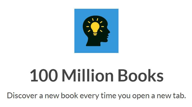 plugin do chrome sobre livros e leitura