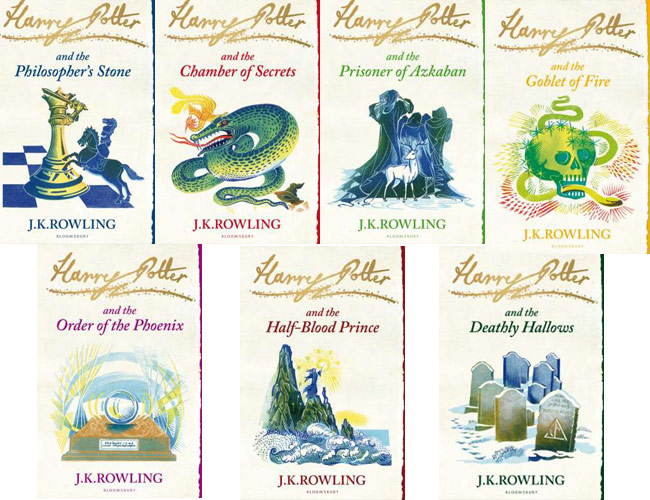 capas de harry potter bloomsbury