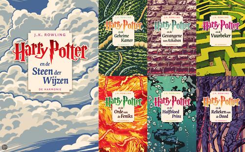 capas de harry potter holanda edições de bolso