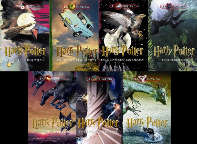 capas de harry potter holanda