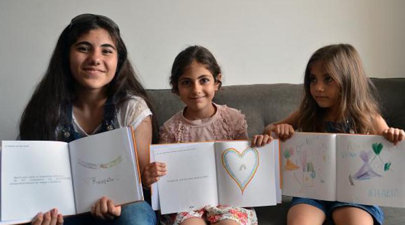 crianças refugiadas siria lançam livros no brasil