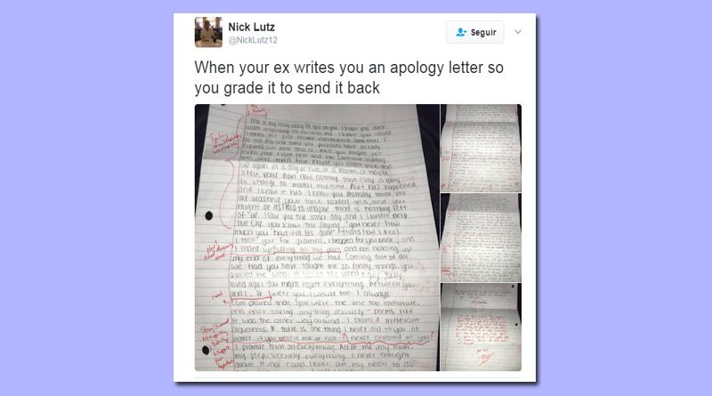 carta ex-namorada devolvida corrigida