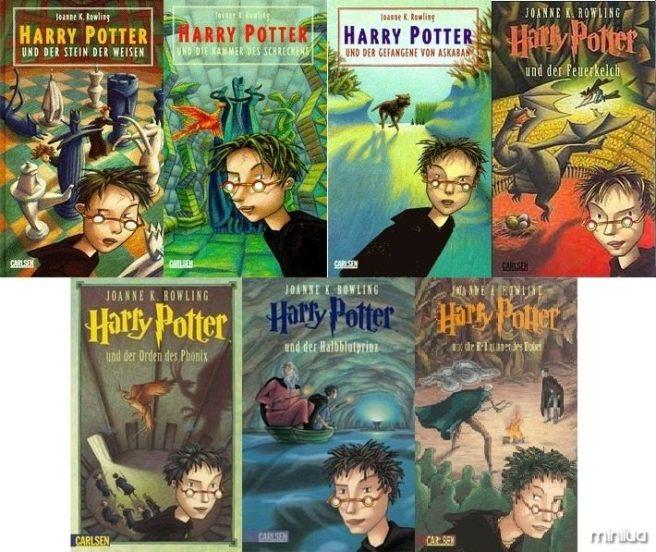 Capas de Harry Potter na Alemanha