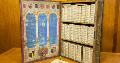 biblioteca portátil medieval